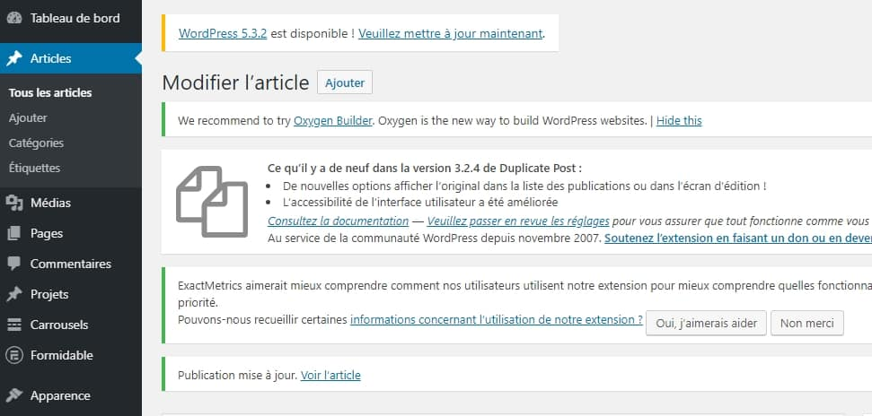 Formation WordPress administrateur à Nantes – CPF – OPCO – Pole emploi